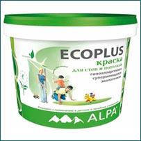 Краска ALPA Ecoplus в Краснодаре