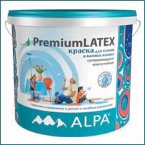 Краска ALPA PremiumLATEX в Краснодаре