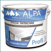 Краска ALPA Profi 3 в Краснодаре